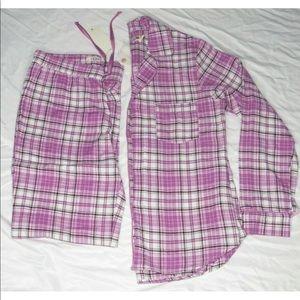 UGG Raven Shirt Pant Bodaciou Plaid Flannel PJ's